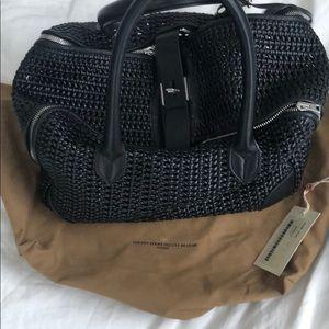 NWOT Woven Golden Goose Tote Bag